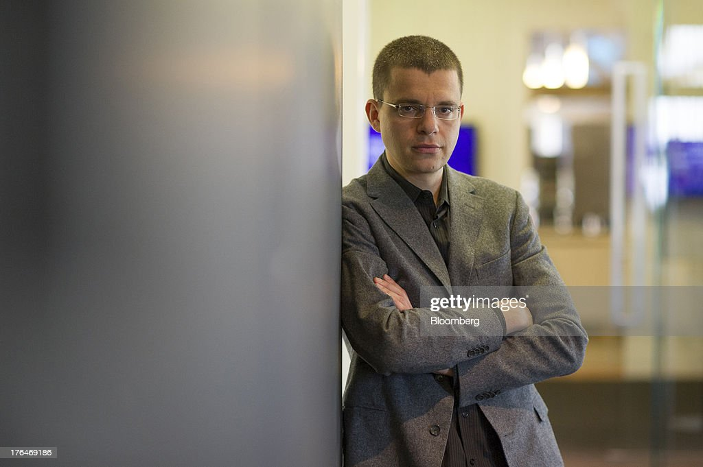 Max Levchin, chairman of Kaggle Inc., stands for a photograph after a Bloomberg West Television interview in San Francisco, California, U.S. on Tuesday, Aug. 13, 2013. Kaggle Inc. offers a platform for predictive modeling competitions where companies, governments, and researchers can present datasets and problems, as well as compete to produce the best solutions. Photographer: David Paul Morris
