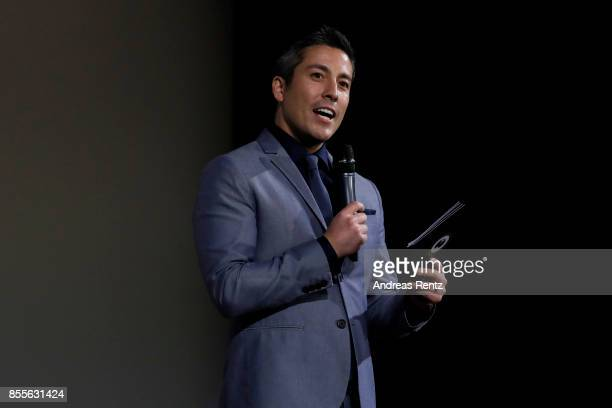 Max Loong speaks on stage at the 'Euphoria' premiere during the 13th Zurich Film Festival on September 29 2017 in Zurich Switzerland The Zurich Film...