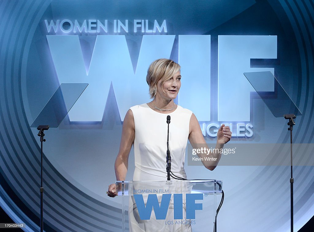 Max Mara executive Nicola Maramotti speaks onstage during Women In Film's 2013 Crystal + Lucy Awards at The Beverly Hilton Hotel on June 12, 2013 in Beverly Hills, California.