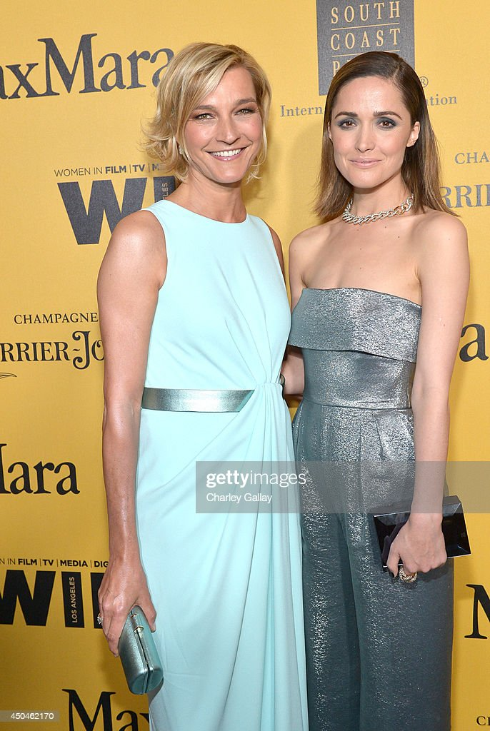 Max Mara Global Brand Ambassador Nicola Maramotti (L) and actress Rose Byrne attend Women In Film 2014 Crystal + Lucy Awards presented by MaxMara, BMW, Perrier-Jouet and South Coast Plaza held at the Hyatt Regency Century Plaza on June 11, 2014 in Los Angeles, California.
