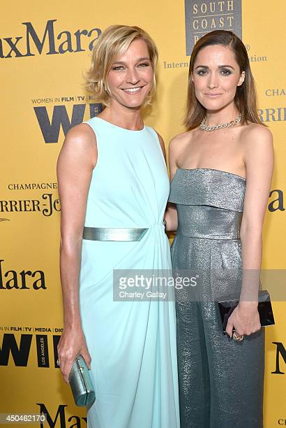 Max Mara Global Brand Ambassador Nicola Maramotti and actress Rose Byrne attend Women In Film 2014 Crystal Lucy Awards presented by MaxMara BMW...