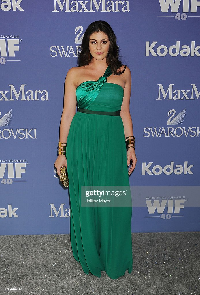 Max Mara U.S. Director of Retail Maria Giulia Maramotti attends Women In Film's 2013 Crystal + Lucy Awards at The Beverly Hilton Hotel on June 12, 2013 in Beverly Hills, California.
