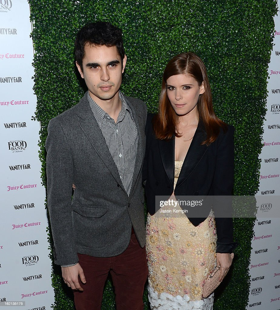 Max Minghella and Kate Mara attend the Vanity Fair And Juicy Couture Celebration Of The 2013 Vanities Calendar With Olivia Munn at Chateau Marmont on February 18, 2013 in Los Angeles, California.