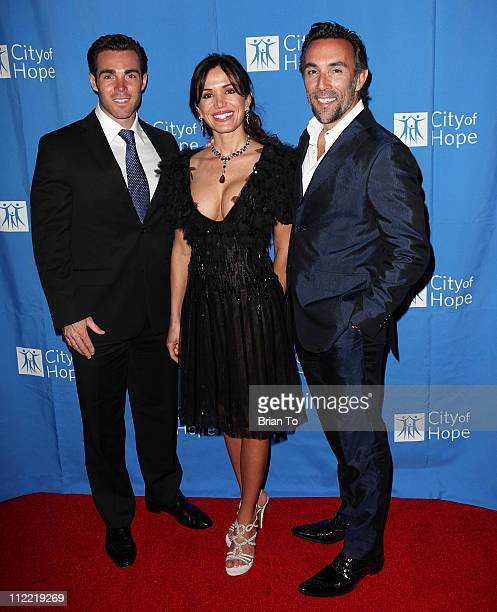 Max Musina Valentina Quinn and Francesco Quinn attend Renato Balestra fashion show and cocktail reception benefiting City of Hope at Millennium...