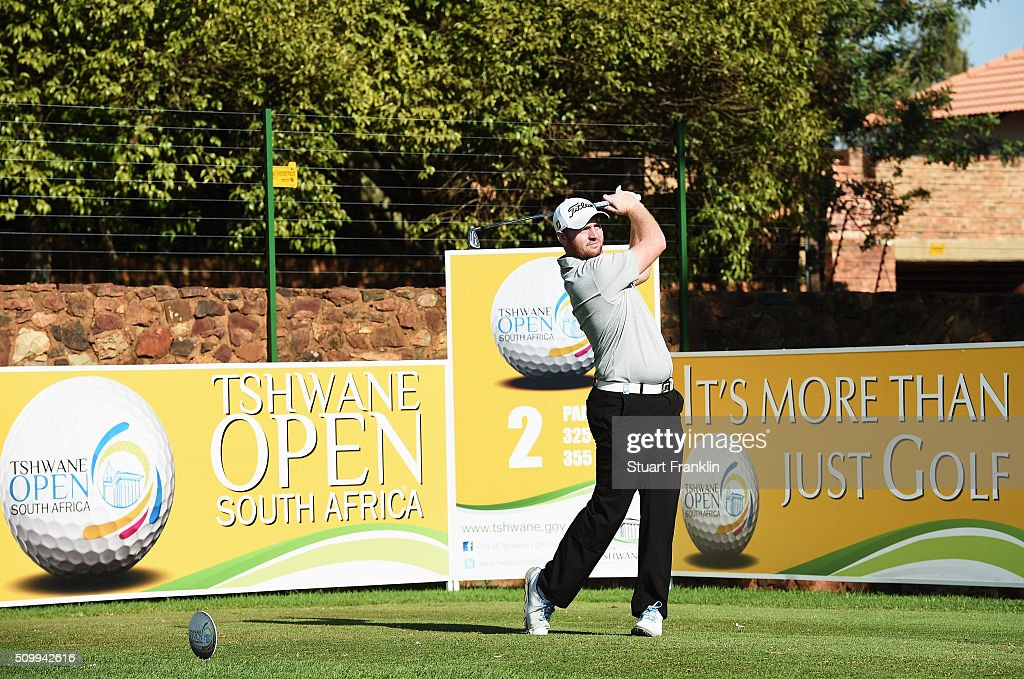 Max Orin of England plays a shot during the third round of the Tshwane Open at Pretoria Country Club on February 13, 2016 in Pretoria, South Africa.