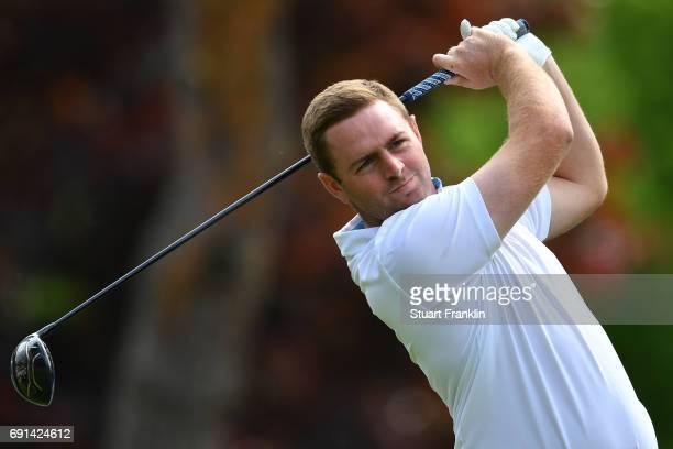 Max Orrin of England in action during the second round of The Nordea Masters at Barseback Golf Country Club on June 2 2017 in Barsebackshamn Sweden