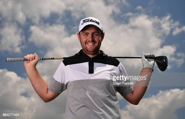 Max Orrin of England poses for a picture prior to the start of The Rocco Forte Open at Verdura Golf and Spa Resort on May 17 2017 in Sciacca Italy