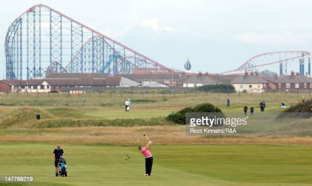 Max Orrin of North Foreland during Local Final Qualifying for the 2012 Open Championship at St Annes Old Links on July 3 2012 in Lytham St Annes...