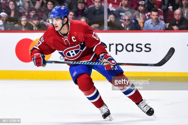 Max Pacioretty of the Montreal Canadiens skates during the NHL game against the Washington Capitals at the Bell Centre on February 4 2017 in Montreal...