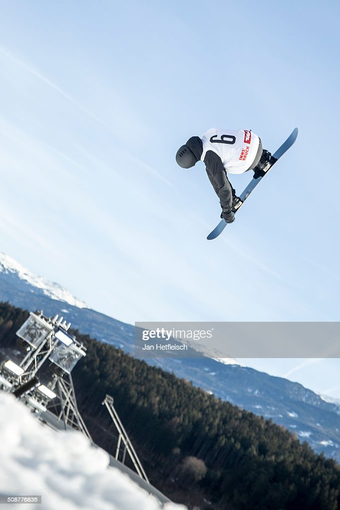Max Parrot from Canada jumps during Air and Style Festival February 6, 2016 in Innsbruck, Austria.