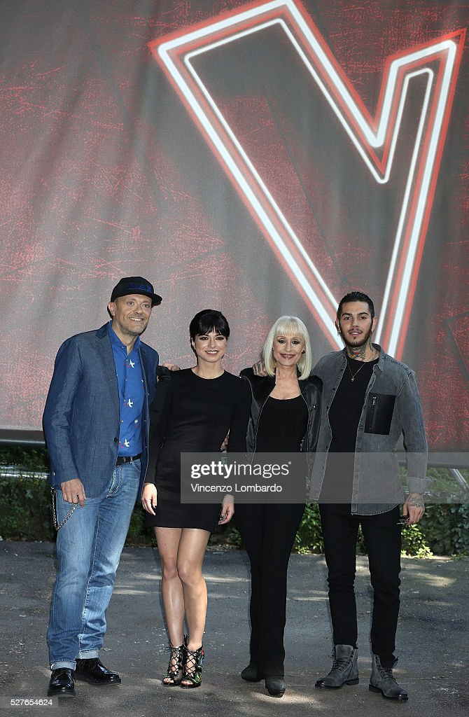 'The Voice Of Italy' Photocall