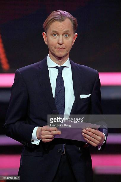 Max Raabe attends at the Echo Award 2013 at Palais am Funkturm on March 21 2013 in Berlin Germany