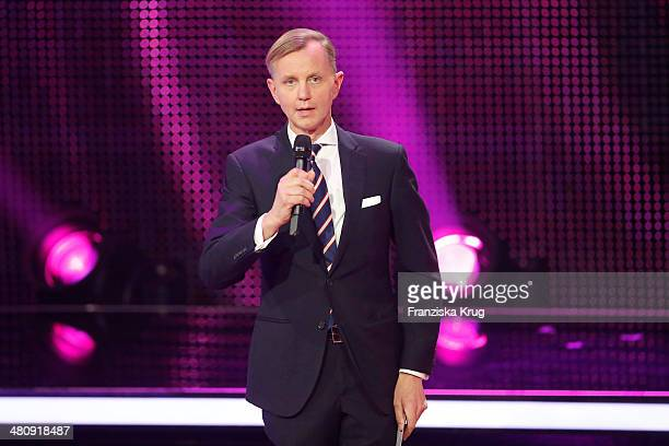 Max Raabe attends the Echo Award 2014 show on March 27 2014 in Berlin Germany