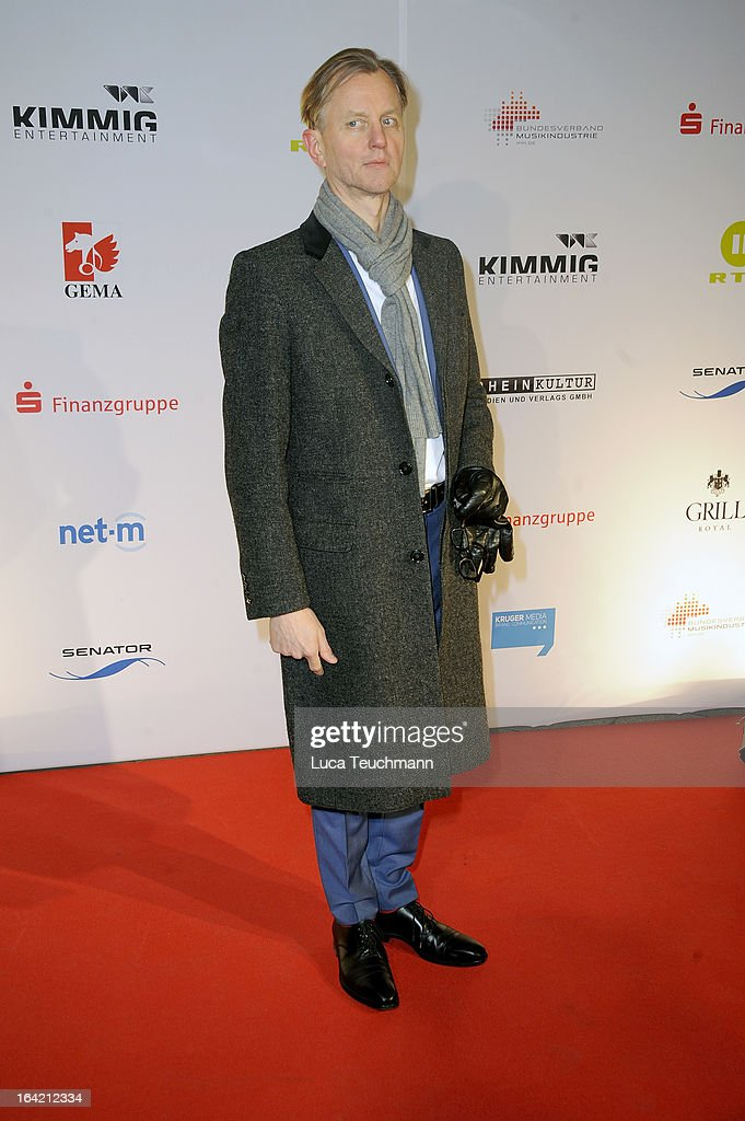 Max Raabe attends the 'Musik Hilft' Charity Dinner at the Grill Royal on March 20, 2013 in Berlin, Germany.