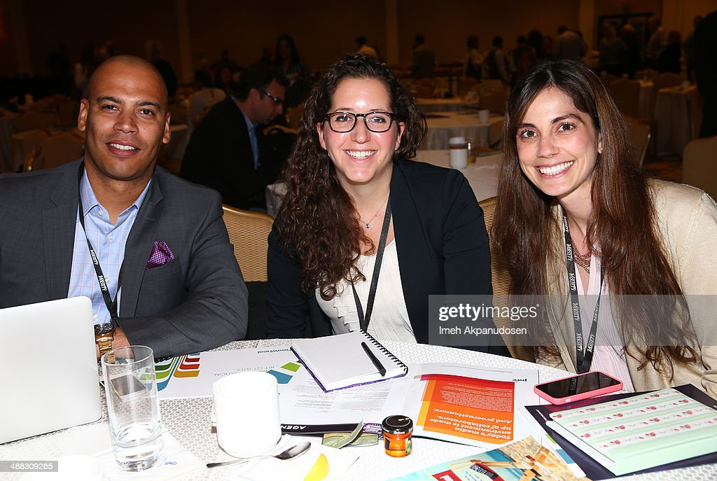 <a gi-track='captionPersonalityLinkClicked' href=/galleries/search?phrase=Max+Ramirez&family=editorial&specificpeople=4175170 ng-click='$event.stopPropagation()'>Max Ramirez</a>, Kimberly August and Andrea Acevedo attend Variety's Spring 2014 Entertainment and Technology Summit at The Ritz-Carlton, Marina Del Rey on May 5, 2014 in Marina del Rey, California.
