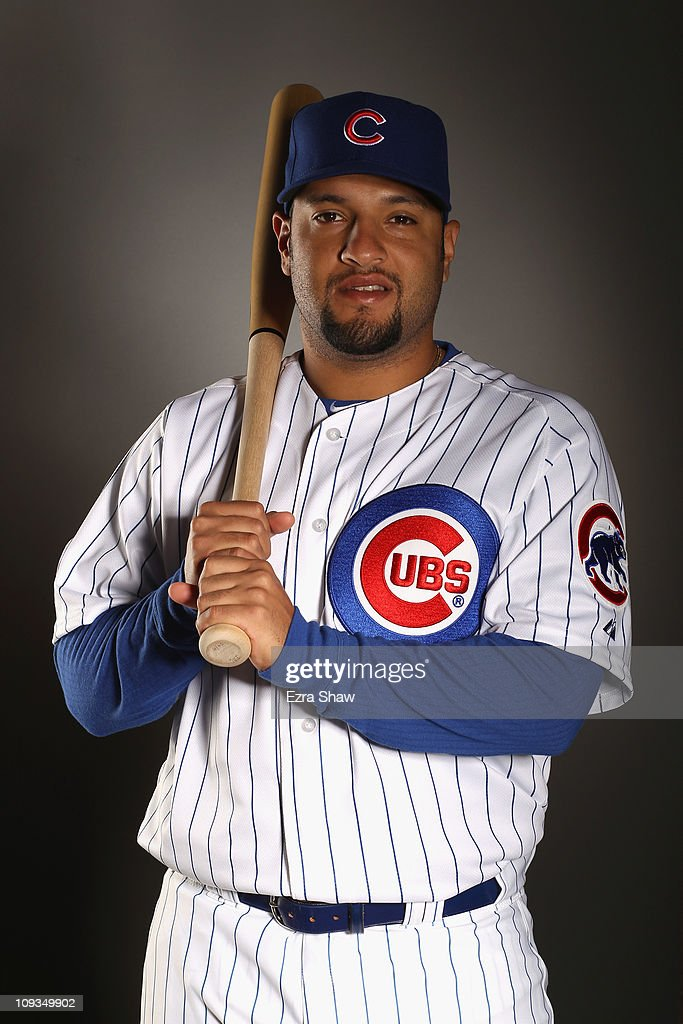 <a gi-track='captionPersonalityLinkClicked' href=/galleries/search?phrase=Max+Ramirez&family=editorial&specificpeople=4175170 ng-click='$event.stopPropagation()'>Max Ramirez</a> #51 of the Chicago Cubs poses for a portrait during media photo day at Finch Park on February 22, 2011 in Mesa, Arizona.