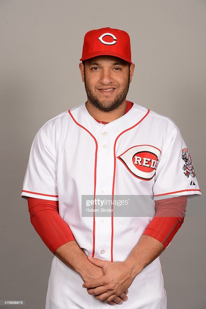 <a gi-track='captionPersonalityLinkClicked' href=/galleries/search?phrase=Max+Ramirez&family=editorial&specificpeople=4175170 ng-click='$event.stopPropagation()'>Max Ramirez</a> #71 of the Cincinnati Reds poses during Photo Day on Thursday, February 20, 2014 at Goodyear Ballpark in Goodyear, Arizona.