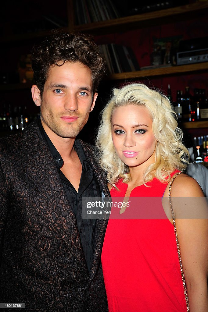 Max Rogers and Kimberly Wyatt attends 2nd Supermodel Saturday at No.8 on March 22, 2014 in New York City.