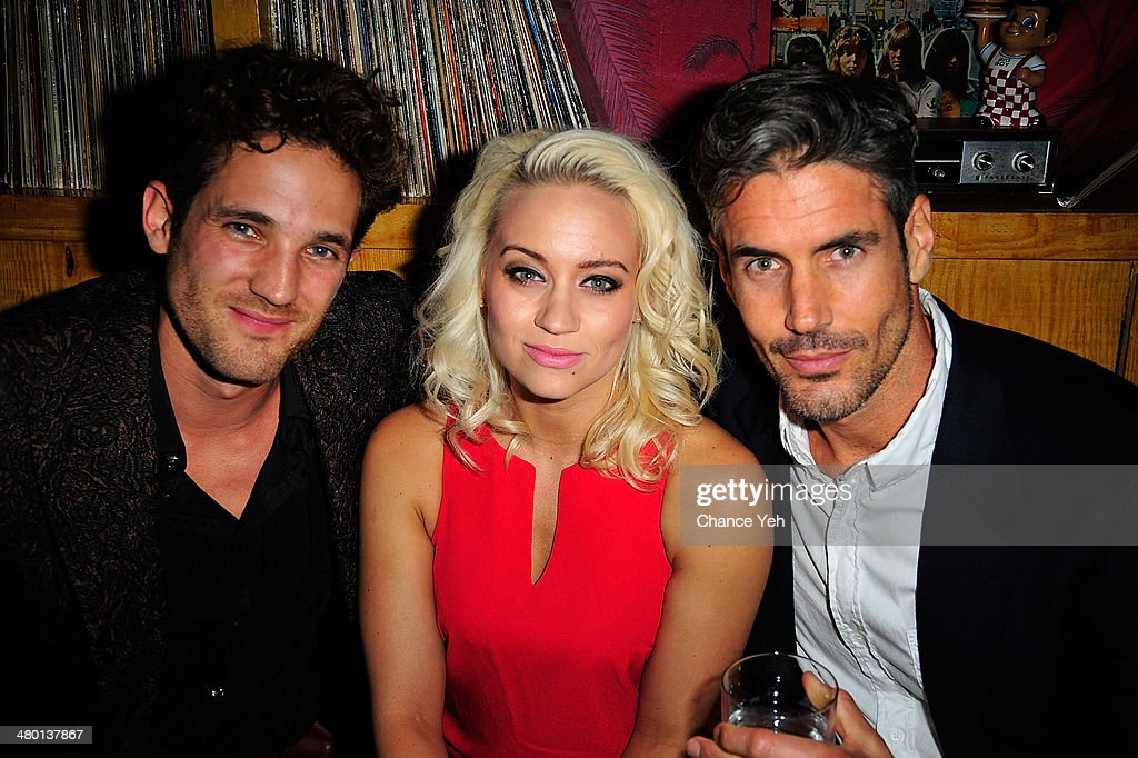 Max Rogers, Kimberly Wyatt and Trey Griley attends 2nd Supermodel Saturday at No.8 on March 22, 2014 in New York City.