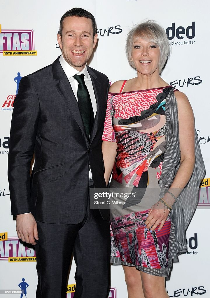Max Rushden and Helen Chamberlain attend the Loaded LAFTA's at Sway on March 7, 2013 in London, England.