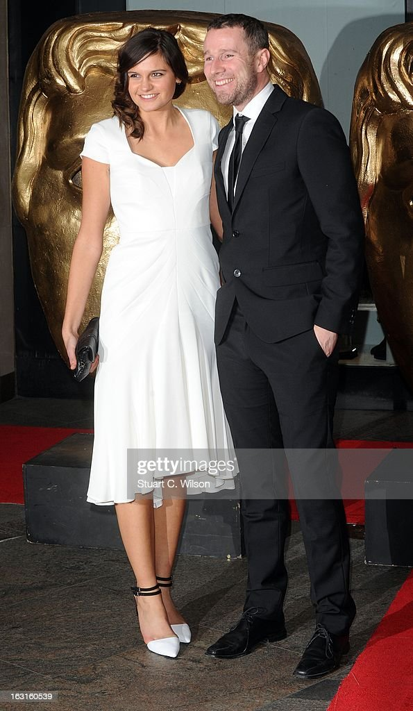 Max Rushden (R) attends The British Academy Games Awards at London Hilton on March 5, 2013 in London, England.