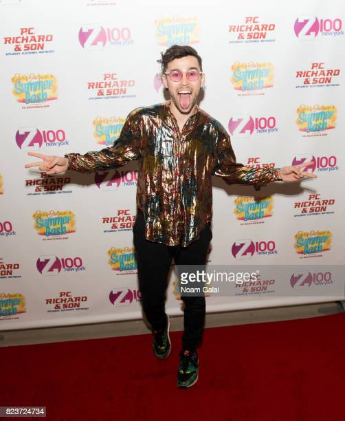 Max Schneider attends Elvis Duran's 2017 Summer Bash at the Pennsy Plaza on July 27 2017 in New York City