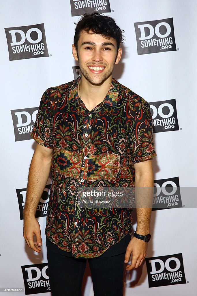 Max Schneider attends the DoSomethingorg Spring Dinner 2015 at Capitale on June 11 2015 in New York City