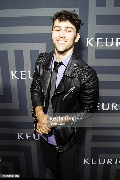 Max Schneider attends the KEURIG 20 GRAMMY After Party at The Continental Club on February 8 2015 in Los Angeles California
