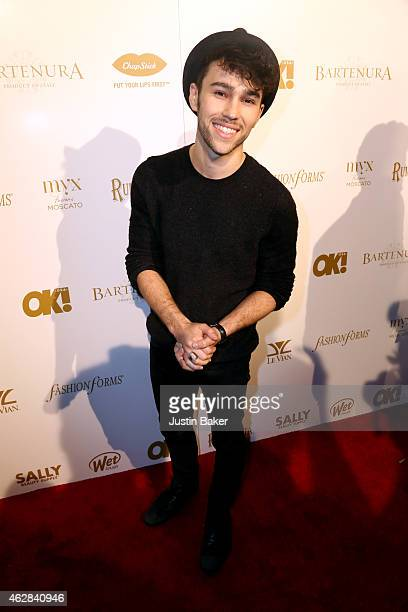 Max Schneider attends the OK 2015 Pre GRAMMY Party at Lure on February 5 2015 in Hollywood California