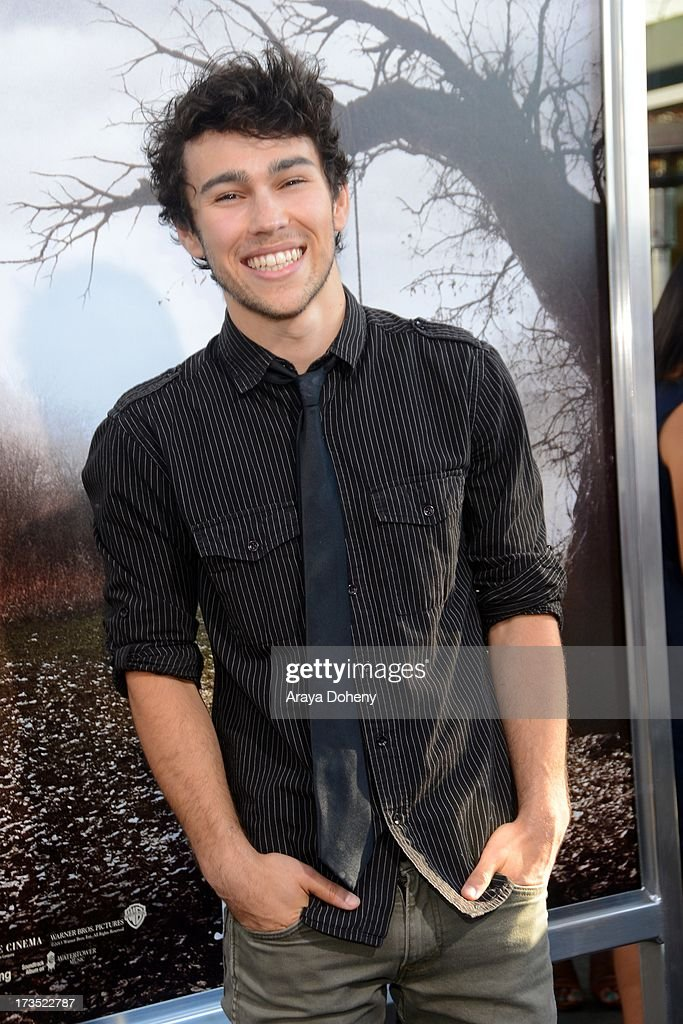 Max Schneider attends the premiere of Warner Bros 'The Conjuring' at ArcLight Cinemas Cinerama Dome on July 15 2013 in Hollywood California