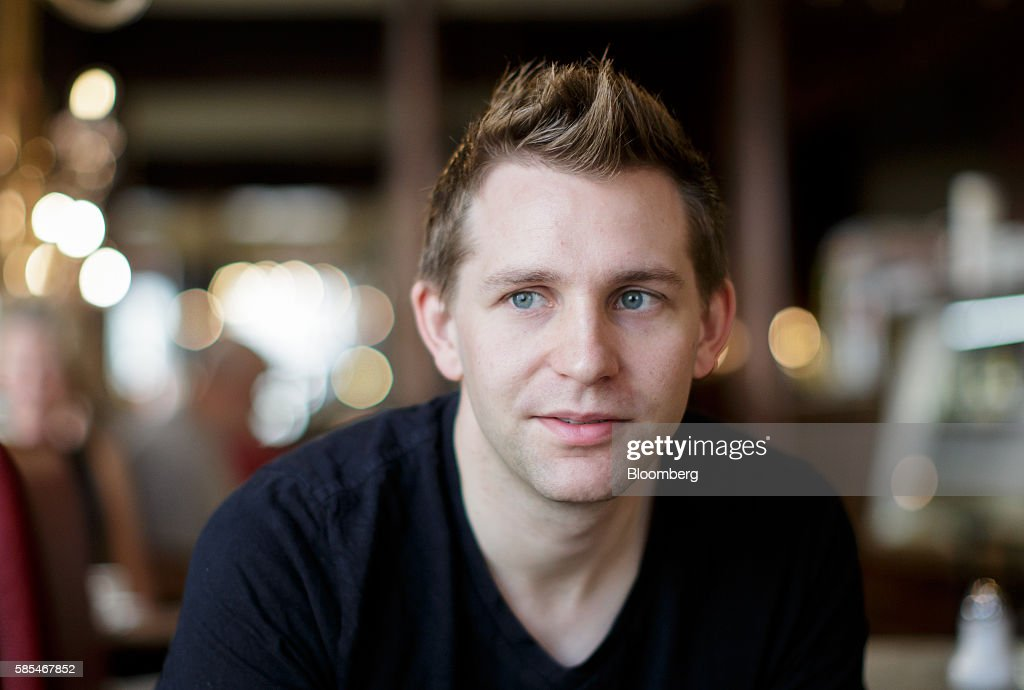 Max Schrems, Austrian law student and data-privacy activist, poses for a photograph following an interview in Vienna, Austria, on Tuesday, July 19, 2016. In 2013, when revelations about mass access to people's data by U.S. secret services broke, Schrems filed a new complaint against Facebook over its transfer of data to the U.S., where it wasn't adequately protected. Photographer: Lisi Niesner/Bloomberg via Getty Images