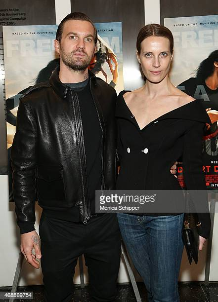 Max Snow and Vanessa Traina attend the Special Screening Of Relativity Studio's 'Desert Dancer' at Museum of Modern Art on April 7 2015 in New York...