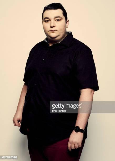 Max Talisman from 'Super Dark Times' attends the 2017 Tribeca Film Festival portrait studio on April 20 2017 in New York City
