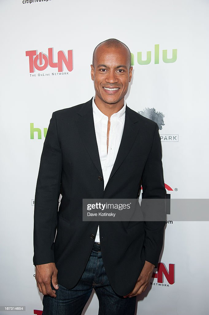 Max Tapper attends the 'All My Children' & 'One Life To Live' premiere at Jack H. Skirball Center for the Performing Arts on April 23, 2013 in New York City.