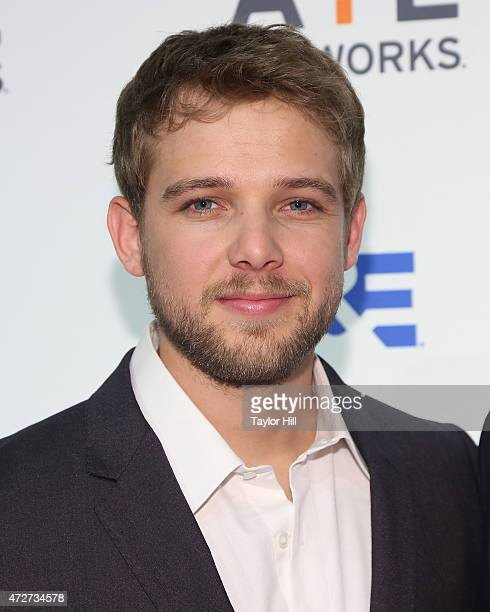 Max Theriot attends AE Network's 2015 Upfront at Park Avenue Armory on April 30 2015 in New York City