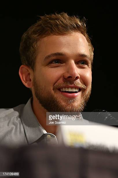 Max Thieriot attends the Bates Motel panel at ComicCon International 2013 Day 3 on July 20 2013 in San Diego California