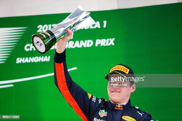 Max Verstappen of Red Bull Racing and The Netherlands during the Formula One Grand Prix of China at Shanghai International Circuit on April 9 2017 in...