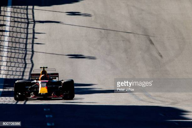 Max Verstappen of Red Bull Racing and The Netherlands during the Azerbaijan Formula One Grand Prix at Baku City Circuit on June 25 2017 in Baku...