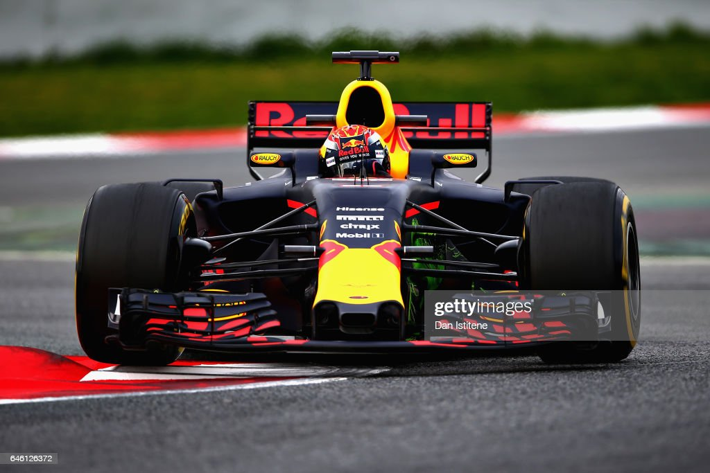 F1 Winter Testing In Barcelona - Day Two : News Photo