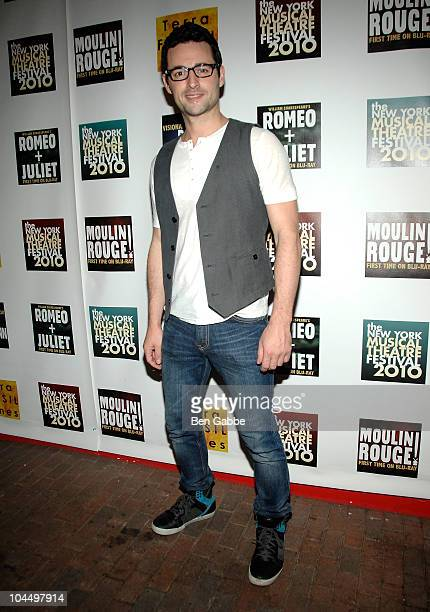 Max von Essen attends the New York Musical Theatre Festival opening night gala at Hudson Terrace on September 27 2010 in New York City