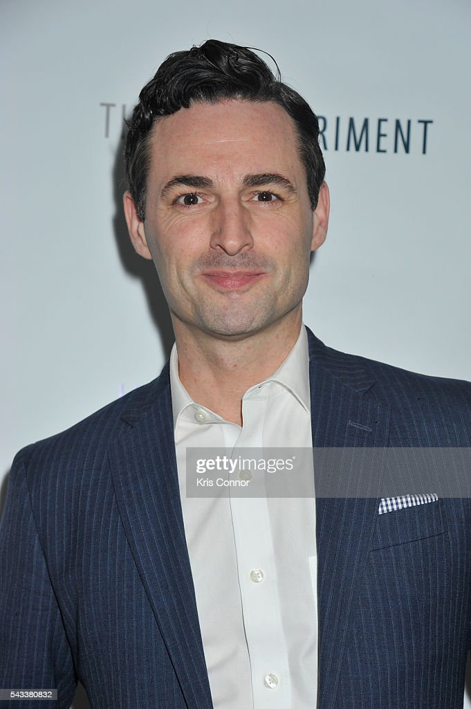 Max von Essen poses during the 'Let's Get Under The Covers: An Evening Of Cocktails And Change' event at Hotel Americano on June 27, 2016 in New York City.