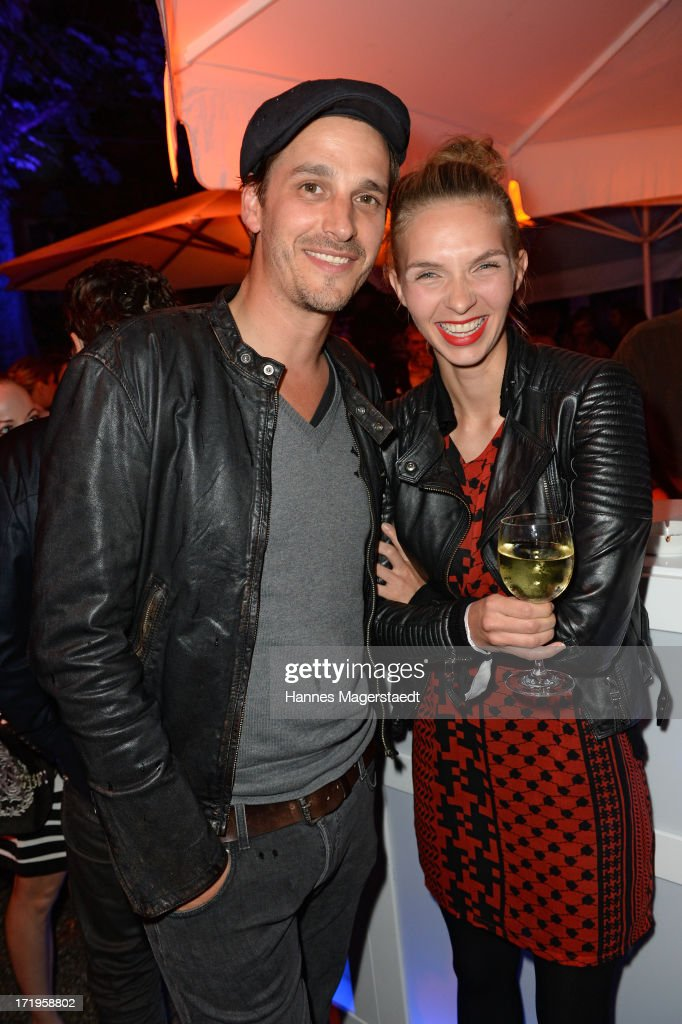 <a gi-track='captionPersonalityLinkClicked' href=/galleries/search?phrase=Max+von+Thun&family=editorial&specificpeople=608843 ng-click='$event.stopPropagation()'>Max von Thun</a> and his girlfriend Kim attend the Audi Director's Cut during the Munich Film Festival 2013 on June 29, 2013 in Munich, Germany.