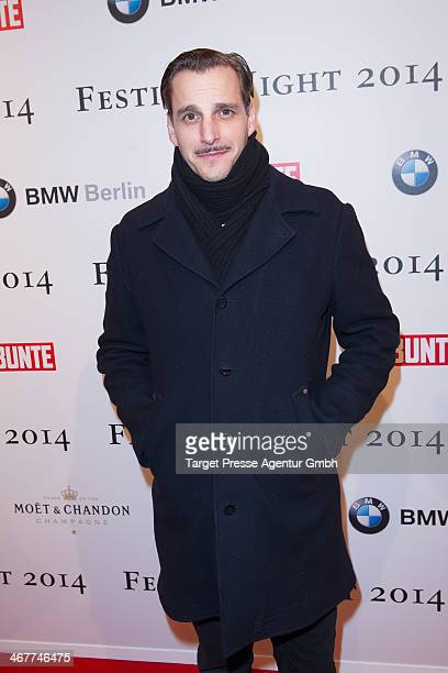 Max von Thun attends the Bunte BMW Festival Night 2014 at Humboldt Carree on February 7 2014 in Berlin Germany