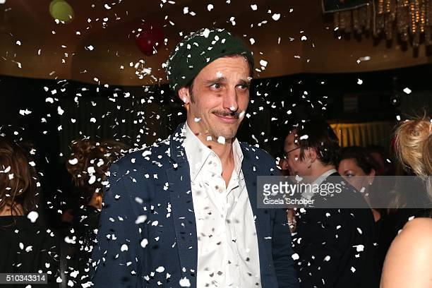 Max von Thun during the 'Drunk In Love' Party hosted by Constantin Film and zLabels on February 14 2016 in Berlin Germany