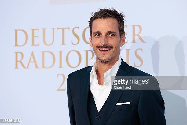 Max von Thun poses during the Deutscher Radiopreis 2015 at Schuppen 52 on September 3 2015 in Hamburg Germany