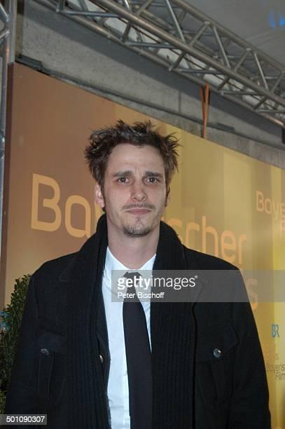 Max von Thun Verleihung '22 Bayerischer Filmpreis 2008' München Bayern Deutschland Europa Schauspieler Promi JB FTP PNr 114/2008 Foto PBischoff...