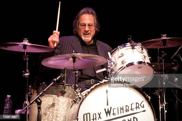 Max Weinberg peforms with The Max Weinberg Big Band at the season opening of the South Orange Performing Arts Center on November 6 2010 in South...