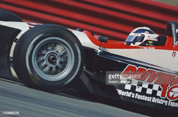 Max Wilson of Brazil drives the ArcieroBlair Racing Lola B2K/00 Ford XF V8t during practice for the Championship Auto Racing Teams 2002 FedEx...