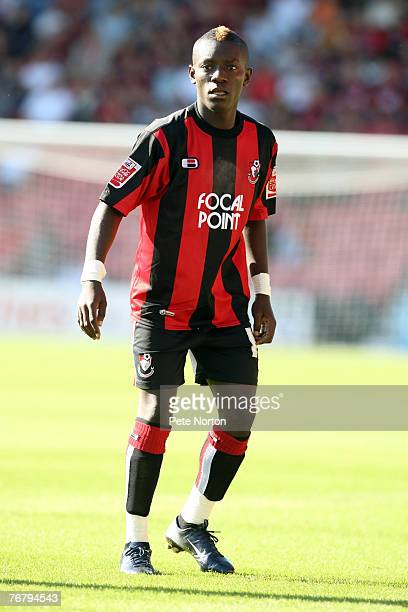 MaxAlain Gradel of AFC Bournemouth in action during the Coca Cola League One Match between AFC Bournemouth and Northampton Town at The Fitness First...