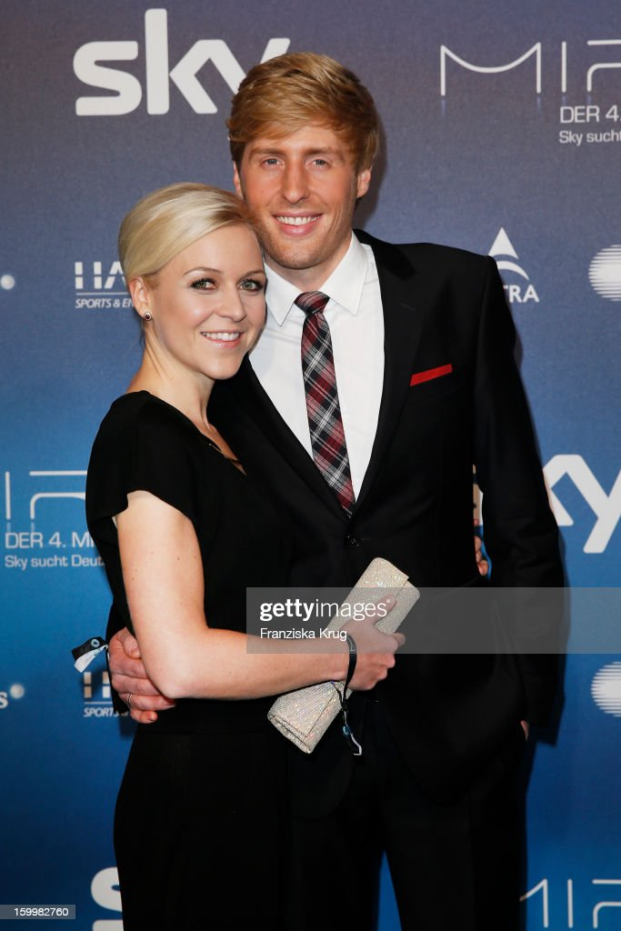 Maxi Arland and Andrea Arland attend the Mira Award 2013 on January 24, 2013 in Berlin, Germany.